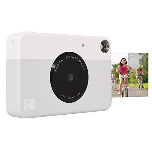 Kodak Printomatic Instant Print Camera , Prints On ZINK 2×3″ Sticky-Backed Paper